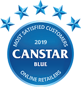 Canstar Blue Most Satisfied Customers Award 2019