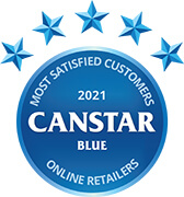 Canstar Blue Most Satisfied Customers Award 2021