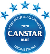 Canstar Blue Most Satisfied Customers Award 2020
