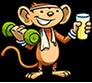 Fitness monkey