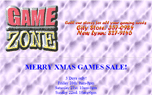 Gamezone Website
