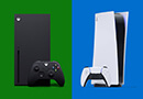 Xbox Series X and PlayStation 5 consoles
