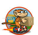 Delivery monkey