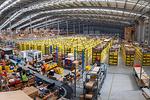 Our distribution centre in Auckland.